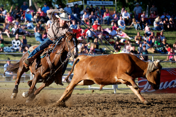 PRCA Rodeo 2013 - Marysville Stampede
