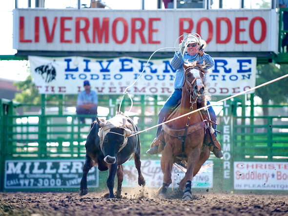 PRCA Rodeo 2013 - Livermore Rodeo