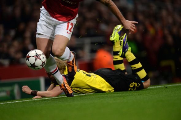 Arsenal v Borussia Dortmund 2013 Champions League