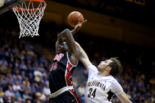NCAA BASKETBALL 2012 - December 9 - UNLV at California