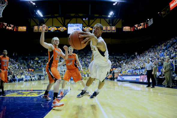 Oregon State at Cal 1-23-10 52