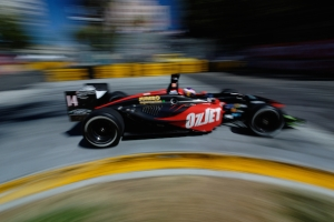 robert doornbos at the san jose grand prix